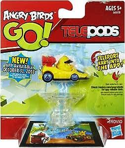 Hasbro Angry Birds GO! Telepods Kart YELLOW Bird