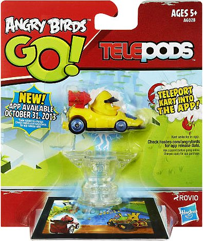 Angry Birds GO! Telepods Kart YELLOW Bird - 1