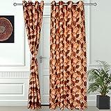 Story @ Home 2 Pc Door Curtain-7 Feet