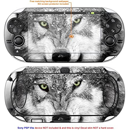 Decalrus Matte Protective Decal Skin Sticker for Sony PlayStation PSP Vita Handheld Game Console case cover Mat_PSPvita-182