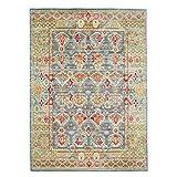 FeelGoodRugs 140 x 200 cm Efes Modern Carpet Rug, Black