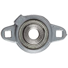 Boston Gear XL21/2 Mounted Bearing, Flange, Light Duty, 2 Bolts, 0.5 Bore