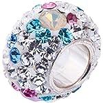 Opal and Swarovski Crystal Charm - 92...