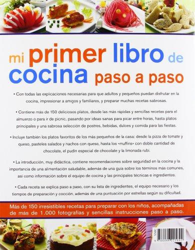 Libro mi primer libro de cocina paso a paso guia de for Libro cocina para ninos