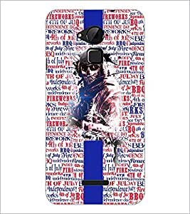 PrintDhaba Typography D-4265 Back Case Cover for COOLPAD NOTE 3 LITE (Multi-Coloured)