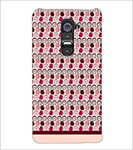 PrintDhaba Pattern D-1900 Back Case Cover for LG G2 (Multi-Coloured)