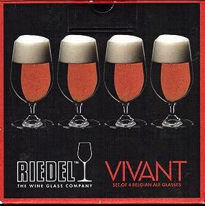 Riedel Vivant Set of 4 Belgian Ale Glasses