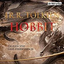 Der Hobbit Audiobook by J.R.R. Tolkien Narrated by Gert Heidenreich