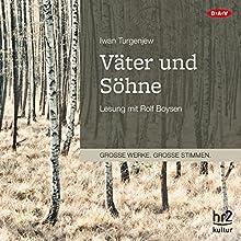 Väter und Söhne Hörbuch von Iwan Turgenjew Gesprochen von: Rolf Boysen