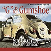 G Is for Gumshoe: A Kinsey Millhone Mystery | Sue Grafton