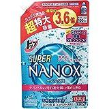 トップ スーパーナノックス 洗濯洗剤 液体 つめかえ用超特大 1300g