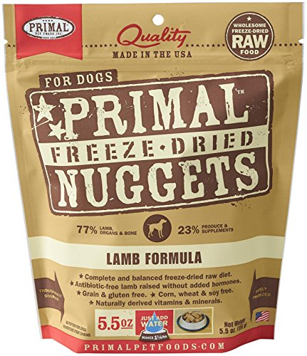 Primal Freeze Dried Lamb Formula for Dogs 5.5 oz (Primal Freeze Dried Food compare prices)