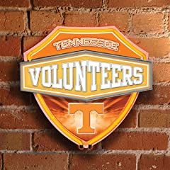 Memory Company MC-COL-TN-874 Tennessee Volunteers Neon Shield Wall Lamp by Memory Company