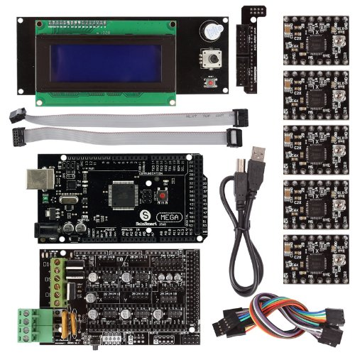 SainSmart RAMPS 1.4 3D Printer Starter Kit with Mega2560 + A4988 + LCD2004 Control Panel for Arduino RepRap