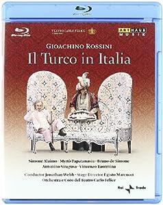 Gioachino Rossini - Il Turco In Italia Teatro Carlo Felice Di Genova 2009 Blu-ray Ntsc from Arthaus Musik