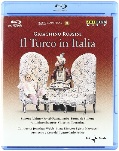 Il Turco in Italia – Rossini – Blu Ray