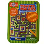 Travel Mazes Game Tin