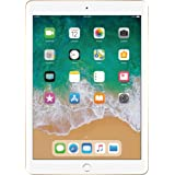 2017 Latest Model Apple iPad 9.7-Inch Retina Display, 128GB, WIFI, Bluetooth, Touch ID, Apple Pay, Siri, GPS Enabled, FaceTime HD Camera, Gold