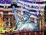 2000ピース ジグソーパズル New York Collage (98 x 75 cm)