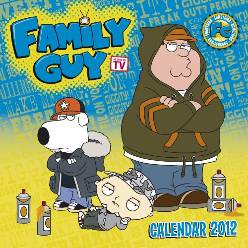 Official Family Guy Calendar 2012