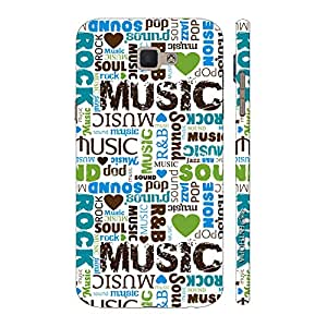 Enthopia Designer Hardshell Case All About Music Back Cover for Samsung Galaxy On5