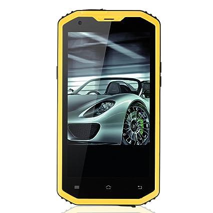 GoldFox X2 Smartphone IP68 Tri-Etanche à la poussière Résistant aux chocs Android 4.4OS 5,5' Écran HD 720P / MSM8916 Quad Core 1,3 GHz / 1GB RAM de 8GB ROM / GPS / 13MP + 5MP Caméras / Bluetooth / WiFi / OTG / éta