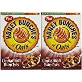 Honey Bunches Of Oats With Cinnamon Bunches-14.5 Oz, 2 Pk