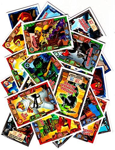 LEGO Ninjago - 50 Basiskarten-Set + Bonus Spezialkarte - Deutsche Ausgabe