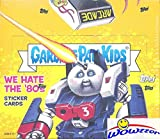 2018 Topps Garbage Pail Kids Series 1 WE HATE THE '80's MASSIVE Factory Sealed 24 Pack HOBBY Box with 192 Cards & One HIT! Look for Autograph, Sketch Cards & Printing Plates! Brand New! WOWZZER!