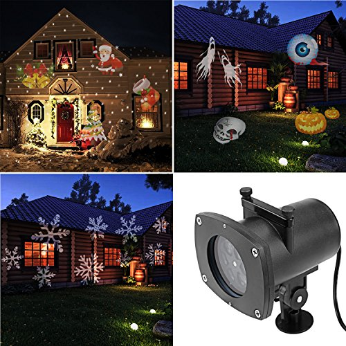 Nacy-Halloween-Outdoor-Decorations-Waterproof-IP65-Landscape-Projector-LED-Light-12-Color-Switchable-Patterns-Auto-Rotating-Lamp-lighting-for-Christmas-Birthday-Wedding-Party-Holiday