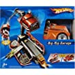 Hot Wheels Big Rig Garage Playset