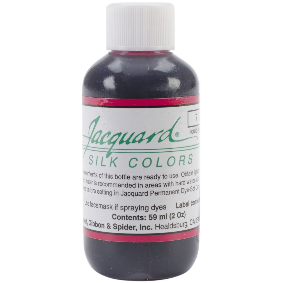 Jacquard Products Jacquard Silk Colors Dyes, 2-Ounce, Magenta jacquard green label silk colors cyan [pack of 3 ]