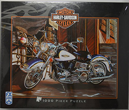 Harley Davidson Motorcycles 1000 Piece Jigsaw Puzzle