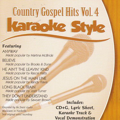 Daywind Karaoke Style: Country Gospel Hits, Vol. 4