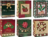 Large Assorted Christmas Gift Bags