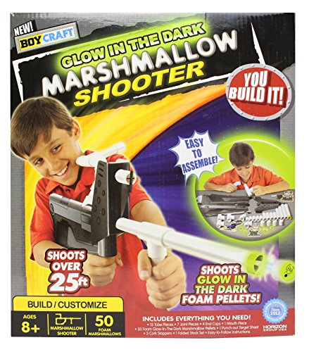 Boy Craft Glow in the Dark Marshmallow Shooter Kit