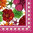 Floral Splash Luncheon Napkin