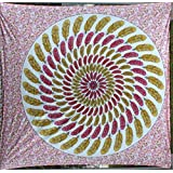 FF 09 (85 X 90 Inches Queen Size) DESIGNER HOME DECOR TAPESTRY WALL HANGING TAPESTRIES COTTON QUEEN BEDSPREAD...