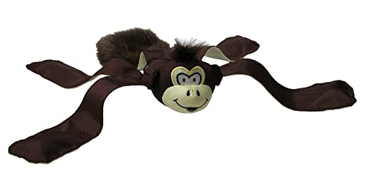 Monkey Dog Toy Squeak Monkey Dog Toy With Ball