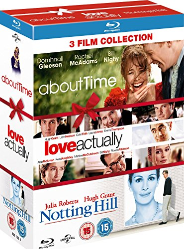 About Time / Love Actually / Notting Hill - Triple Pack [Blu-ray]