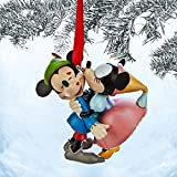 Disney Mickey and Minnie Mouse Sketchbook Ornament, the Brave Little Tailor