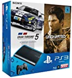 PS3 - Konsole Slim 500GB (SuperSlim) + Uncharted