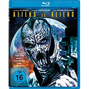Aliens Vs. Aliens [Blu-ray] [Import allemand]
