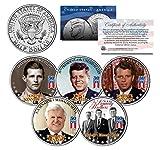 KENNEDY BROTHERS John Robert Ted Joe 2014 Anniversary JFK Half Dollar 5-Coin Set