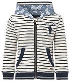 Noppies Jungen Kapuzenpullover B Cardi hooded Bob str, Gr. 92, Elfenbein (Off White C010)