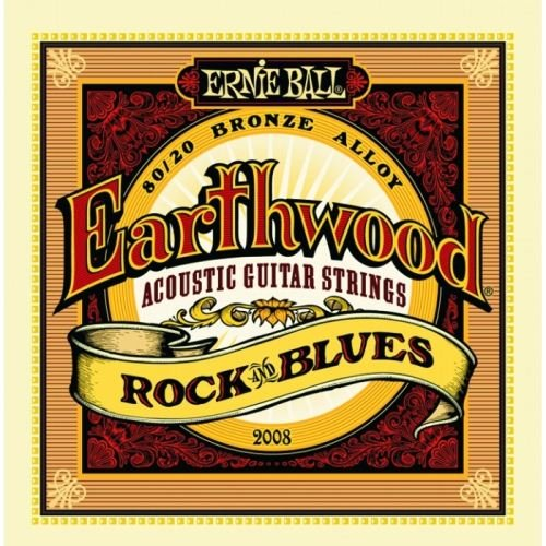 Ernie Ball 2008 Earthwood 80/20 Bronze Rock &