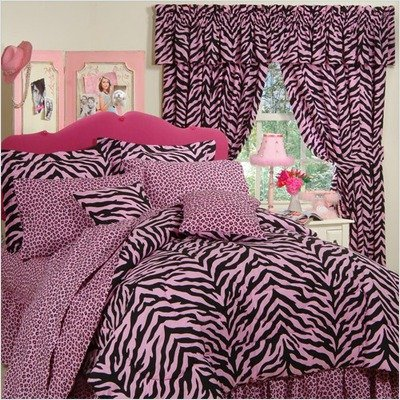 Bundle-19 Zebra Pink Drapes