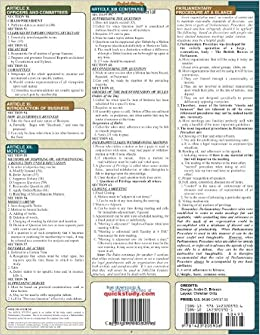 Parliamentary Procedure A Quick Reference Guide for ...