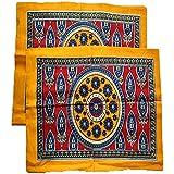 Griiham Pure Cotton 100% Cotton Multicolor Pillow Cover Set Of 2 Pillow Cases 02