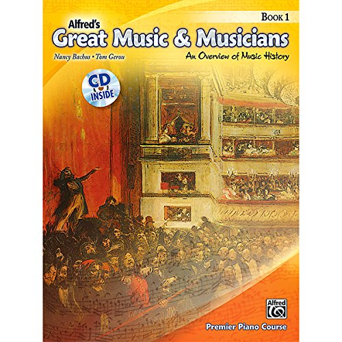 Alfred Alfred'S Great Music & Musicians Book 1 & Cd front-855519